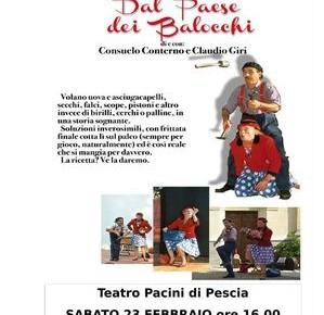 Teatro Pacini sabato 23 febbraio''Dal Paese dei Balocchi'