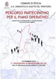 Martedi 19 Febbraio l'incontro a Collodi per il Piano Operativo