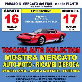 Pescia mercato dei fiori sabato 16 e domenica 17 marzo. Toscana Auto Collection