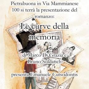 Pietrabuona Circolo Agorà mercoledì 3 aprile. Presentazione del libro''Le curve della memoria''.