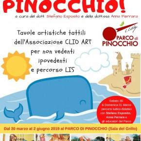 Collodi. Blind Pottery Light – Pinocchio, una mostra-progetto per tutti. Tavole artistiche per ipovedenti, non vendenti e video-racconto in Lis. Collodi