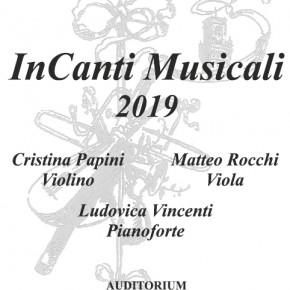 """Pescia domenica 17 marzo Concerto """"InCanti Musicali"""