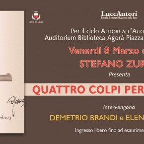 "Lucca /Biblioteca Agorà venerdì 8 marzo STEFANO ZURLO ""QUATTRO COLPI PER TOGLIATTI"""