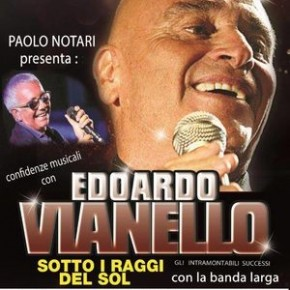 """Domenica 31 marzo. Edoardo Vianello al Teatro Pacini """"Sotto i raggi del sol"""""""
