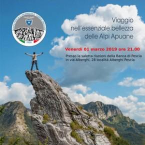 """Venerdi 1 marzo Presentazione del libro  di Gianluca Briccolani: """"L'altezza della libertà. Viaggio nell'essenziale bellezza delle Alpi Apuane"""""""