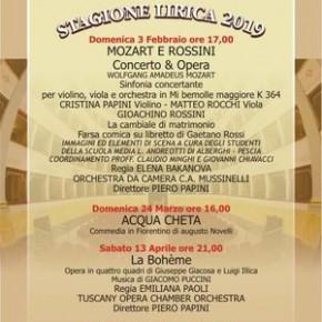 """Pescia Teatro Pacini domenica 24 marzo ore 16.00 """"Acquacheta"""""""