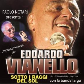 Pescia Teatro Pacini domenica 31 marzo. Edoardo Vianello e i suoi più grandi successi. Il re Mida della canzone italiana a Pescia.Con l'artista, il giornalista Paolo Notari