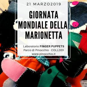 Giornata Mondiale della Marionetta, al Parco di Pinocchio  laboratori e appuntamenti a tema giovedì 21 marzo