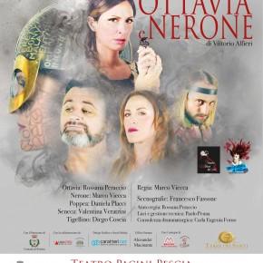 Pescia Teatro Pacini Giovedì 14 marzo ''Ottavia e Nerone'' di Vittorio Alfieri. Regia di Marco Viecca