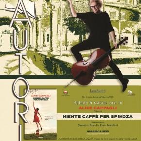 Sabato 4 maggio. Alice Cappagli alla Biblioteca Agorà di Lucca