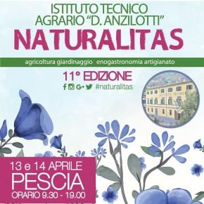 Pescia sabato 13 e domenica 14 aprile . Naturalitas, 11^ edizione