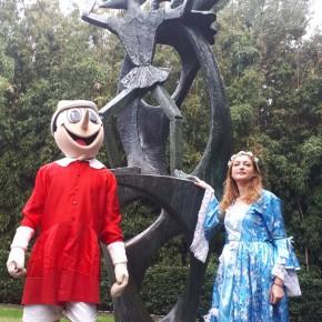 Scuole in gita da Pinocchio: ad attenderle ci sonosei mostre d 'arte di alto valore didattico e culturale.