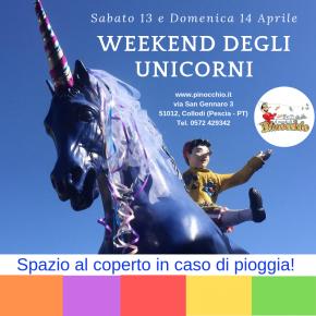 Torna il Weekend degli Unicorni al Parco di Pinocchio  Laboratori al Giardino Garzoni Casa delle Farfalle