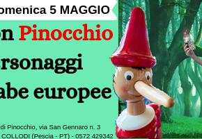 Giochiamo con Pinocchio e i personaggi delle fiabe europee