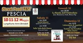Pescia 10-11-12 maggio Street Food Fest 2019 Tre giorni di cibo per tutti i gusti sul lungofiume Amm. Birindelli