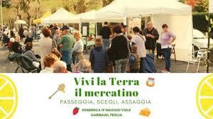 Vivi la Terra, il mercatino torna a Pescia  Domenica 19 maggio Passeggia, scegli, assaggia!
