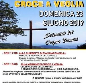 Domenica 23 giugno 2019 Parrocchia di Pontito di Pescia 2^ Festa alla Margine di Croce a Veglia