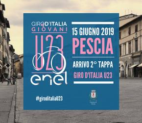 Sabato 15 Giugno 2019. Giro d'Italia U23 seconda tappa Arrivo agli Alberghi di Pescia