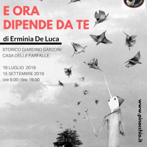 Pinocchio e gli animali del romanzo  nella mostra di Erminia De Luca  Fino al 15 settembre lo Storico Giardino Garzoni ospita 26 opere a tecnica mista   dell'artista di Milano originaria di San Giovanni Rotondo