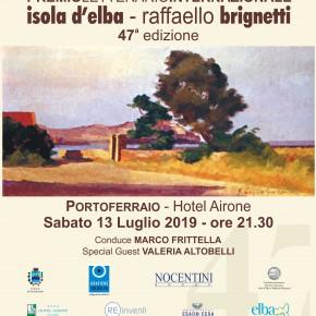 Sabato 13 luglio 2019 alle 21,30 a Portoferraio (Isola d'Elba) verrà designato il vincitore dellla 47° edizione del Premio letterario internazionale Isola d'Elba - Raffaello Brignetti.