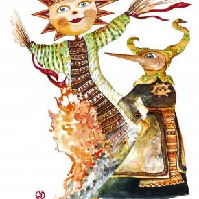 Giochi e laboratori ispirati alla Russia al Parco di Pinocchio  Alla Casa delle Farfalle dipingiamo l'Albero dell'amicizia