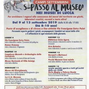 Lucca Dal 9 al 13 settembre 2019 si svolgeranno i Campus Settembrini, per bambini di età compresa tra gli otto e i dieci anni.