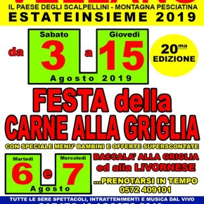 """""""Estate Insieme"""" a Vellano dal 3 al 15 di Agosto - 20^ edizione -"""