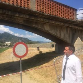 """A breve il progetto preliminare per il Ponte del Marchi     Giurlani e Morelli """"Ci aspettiamo la collaborazione economica degli enti superiori e dello Stato"""""""