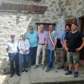 """Inaugurato il Rifugio Uso di Sotto nella montagna pesciatina     Giurlani """"Una bella struttura dove stare bene """""""