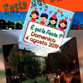 """San Quirico domenica 4 agosto """"Festa dei Bimbi"""""""