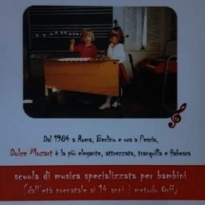 """Sabato 7 settembre Inaugurazione della scuola di musica per bambini """"Dolce Mozart"""""""
