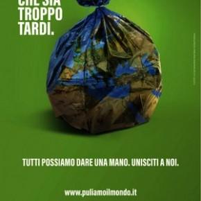 Domenica 22 settembre. Puliamo il mondo La raccolta dei rifiuti di Legambiente