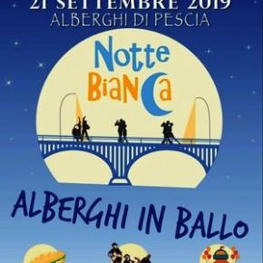 """Alberghi di Pescia sabato 21 settembre. """"Notte Bianca"""""""