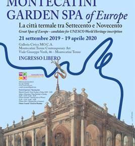 """Montecatini sabato 21 settembre inaugurazione della mostra """"Montecatini Garden Spa of Europe – La città termale tra Settecento e Novecento"""""""