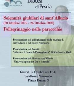 Pescia sala rossa del Vescovado giovedì 17 ottobre.  Presentazione delle iniziative del Giubileo diocesano.
