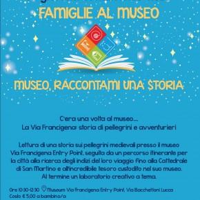 Lucca. Domenica 13 ottobre alle ore 10:30 torna l'appuntamento con la Giornata nazionale della Famiglie al museo!