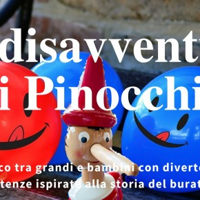 Le disavventure di Pinocchio diventano un gioco  Giornata degli insegnanti, crea un segnalibro da donare agli insegnanti