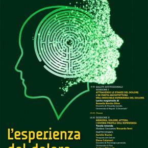 Viareggio Venerdì 25 ottobre. Convegno ''L'esperienza del dolore tra filosofia, psicologia e medicina /Fondazione Mario Tobino''.
