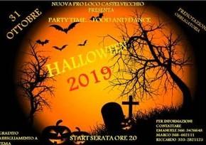 Castelvecchio di Pescia 31 ottobre. Tradizionale festa Celtica di Halloween, organizzata dalla pro loco