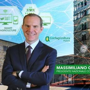 Confagricoltura Pistoia accoglie il 4 ottobre Massimiliano Giansanti con un focus sull'agricoltura 4.0