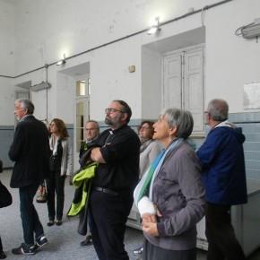 Mons. Paolo Giulietti, arcivescovo di Lucca, giovedì 31 ottobre, ha visitato l' ex Ospedale Psichiatrico di Maggiano.