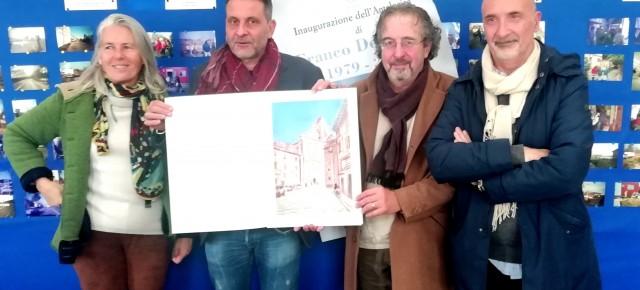 Una mostra per i 40 anni di attività dell'artista pesciatino Franco Del Sarto   Pescia, Palagio 15 Novembre 2019- 30 Gennaio 2020