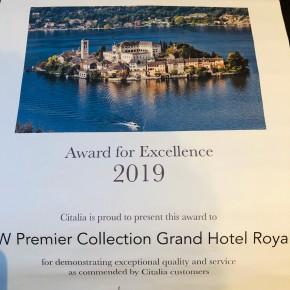 Un prestigioso riconoscimento internazionale per Il Grand Hotel Royal di Viareggio