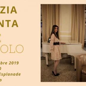 """Sabato 23 novembre alle 21.30 Hotel Esplanade – Viareggio  La pianista Lucrezia presenta il singolo """"Life"""""""