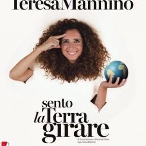 """Pescia Teatro Pacini domenica 24 novembre. """"Sento la Terra girare"""", di Teresa Mannino"""