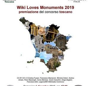 Pescia Palagio domenica 1 dicembre. Premiazione concorso fotografico Toscano WIKI Loves Monuments 2019