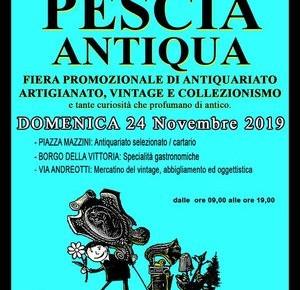 Domenica 24 novembre 2019. Pescia Antiqua
