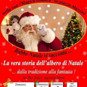 La vera storia dell'albero di Natale Piazza Mazzini (ex Bar Jolly)