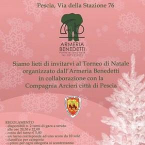 Torneo di Natale Armeria Benedetti - Compagnia Arcieri Città di Pescia