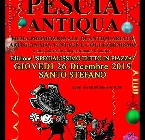Pescia Antiqua Giovedì 26 dicembre 2019 (Santo Stefano)